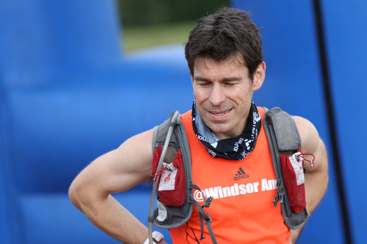 south downs way 100 finish line Andrew Cooney (SDW100)