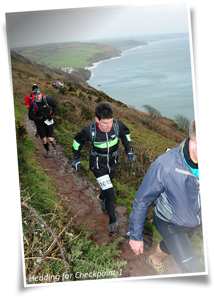CTS Devon Ultra heading to checkpoint 1