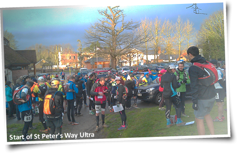 St Peters Way Ultra start
