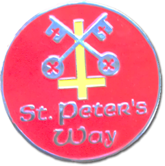 St Peters Way ultra medal