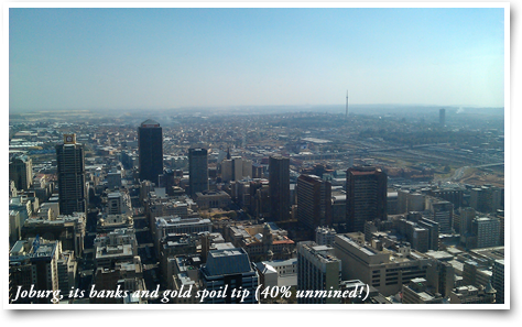 Joburg city view