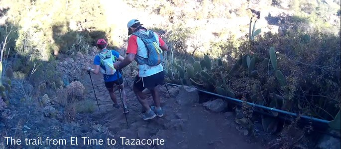 Transvulcania 2015 - Trail to Tazacorte