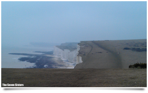 Sussex 50k Ultra route - Seven Sisters