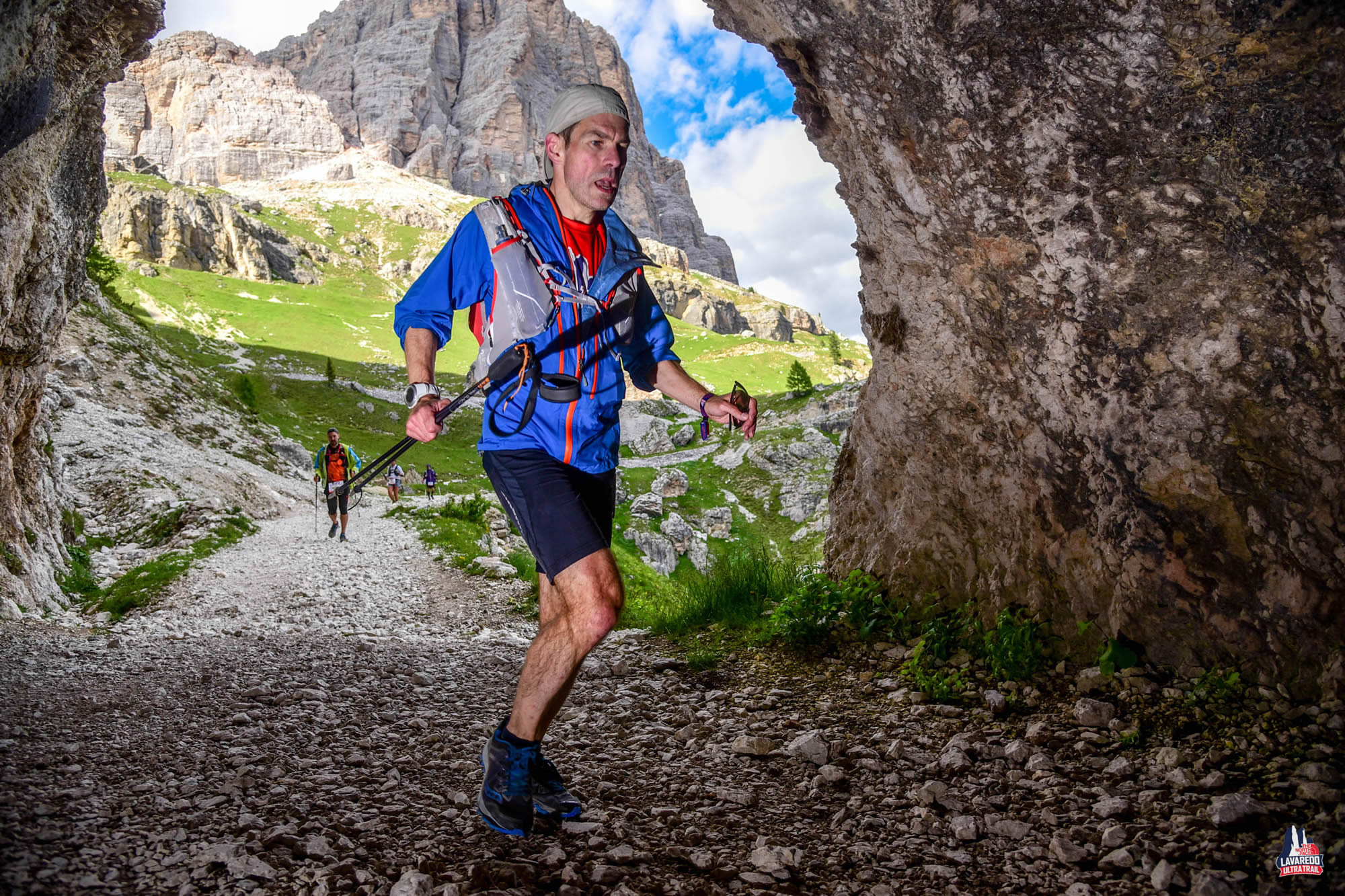 Trail to Refugio Gallina, Lavaredo Ultra Trail
