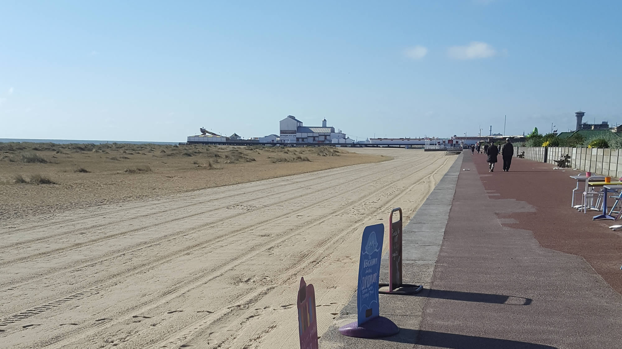 Great Yarmouth sea front and pier - North Norfolk Coastal Path