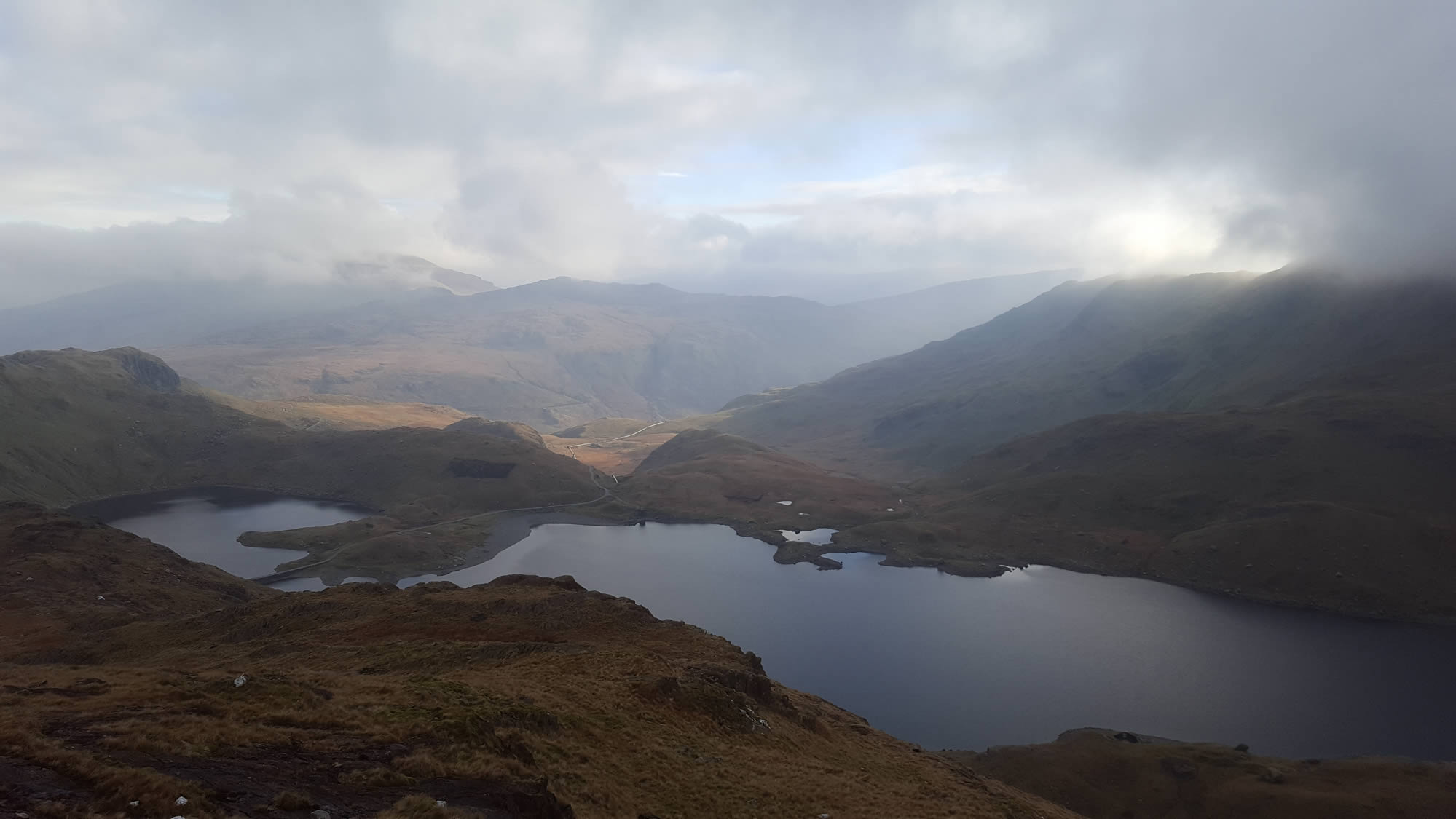 View from the Pyg Track, Snowdon