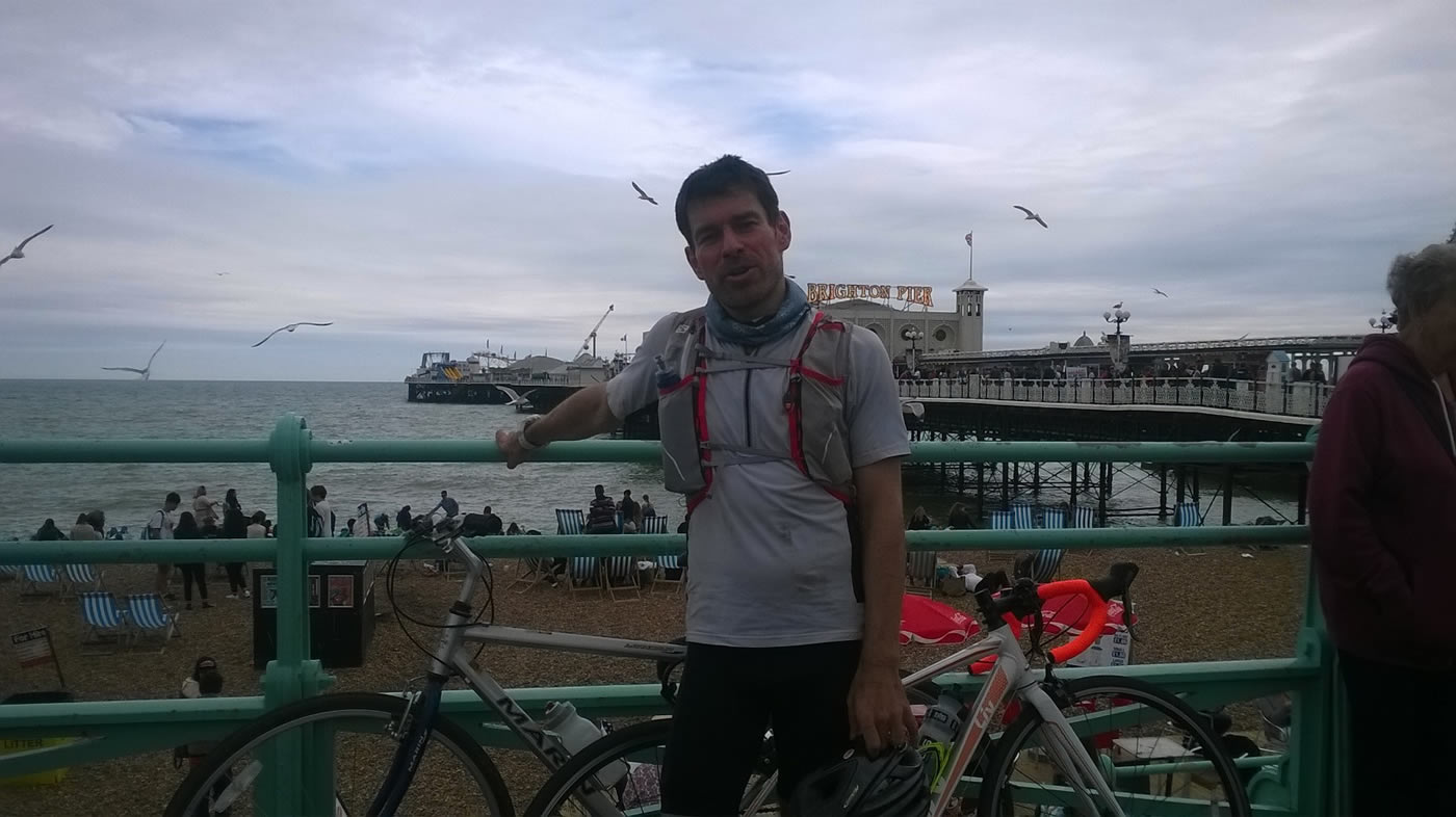 Brighton prom and pier