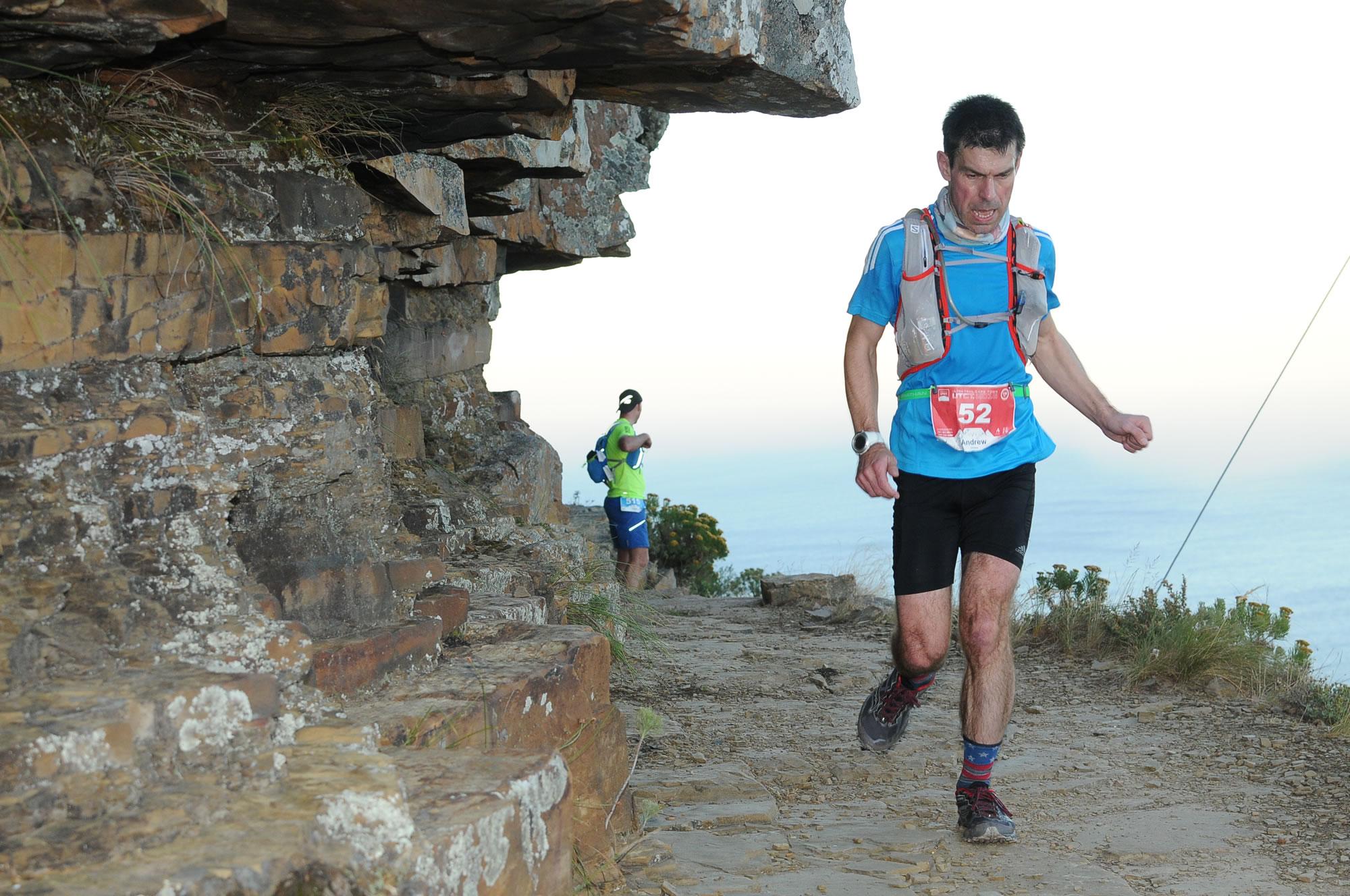 Ultra Trail Cape Town UTCT Table Mountain contour trail