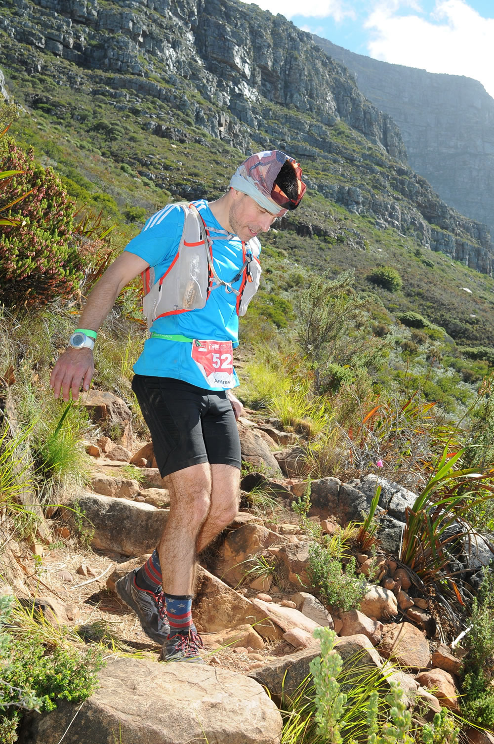 Ultra Trail Cape Town UTCT more steps