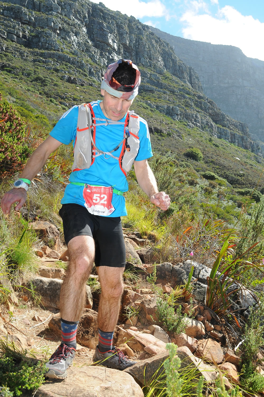 Ultra Trail Cape Town UTCT yet more steps