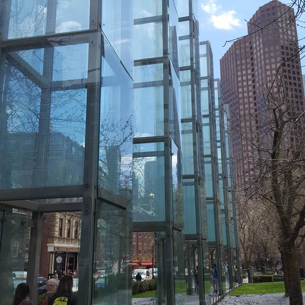 Holocaust memorial Boston