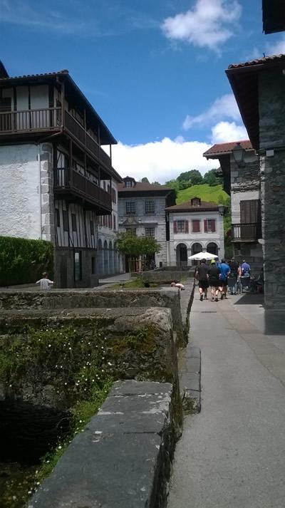 Lesaka in Basque Spain