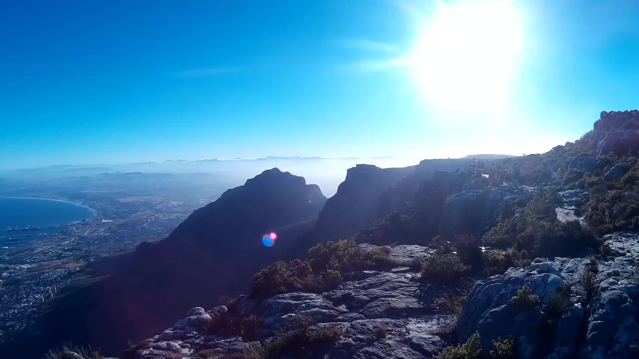 Ultra Trail Cape Town UTCT Top of Table Mountain